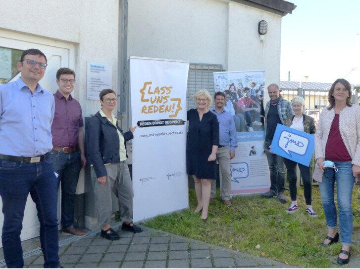Ministerin Christine Lambrecht zu Besuch in der Diakonie Bergstraße, Lampertheim