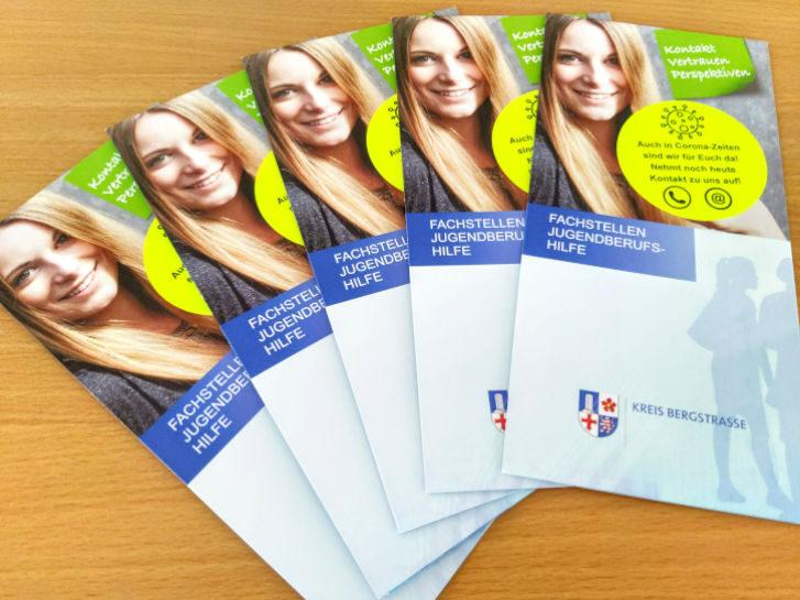 Neuer Flyer der Fachstellen Jugendberufshilfe im Kreis Bergstraße. Foto: Archiv