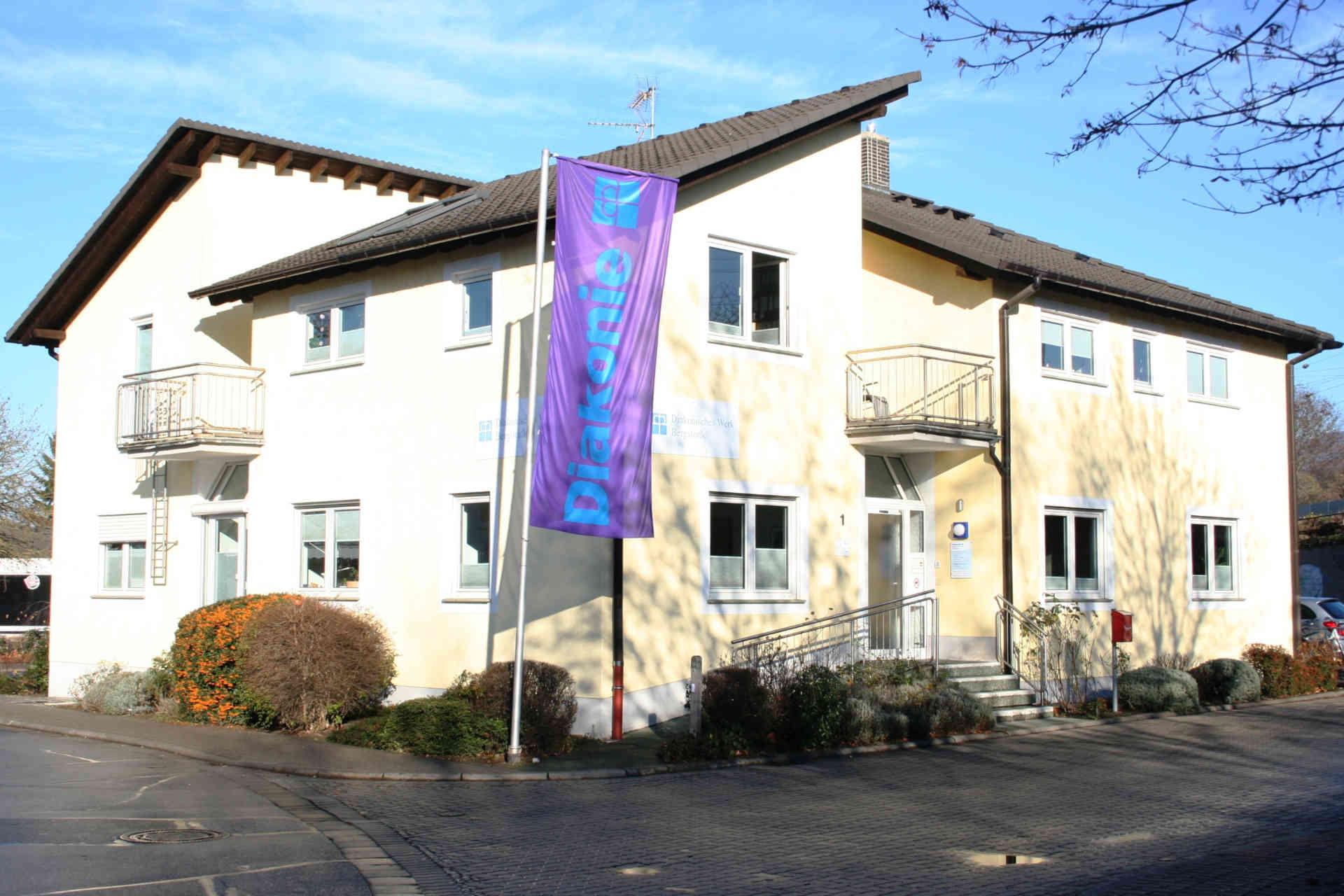 Beratungszentrum & zentrale Verwaltung des Diakonischen Werks Bergstraße in der Riedstr. 1, 64625 Bensheim