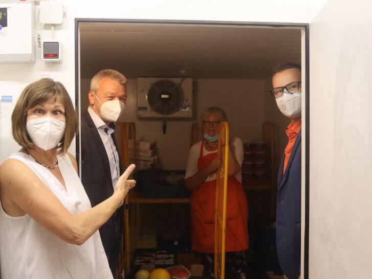 Dank der unbürokratischen Hilfe des Rotary-Club konnte die Reparatur des Kühlraums der Tafel Lampertheim direkt umgesetzt werden. Foto: Benjamin Kloos