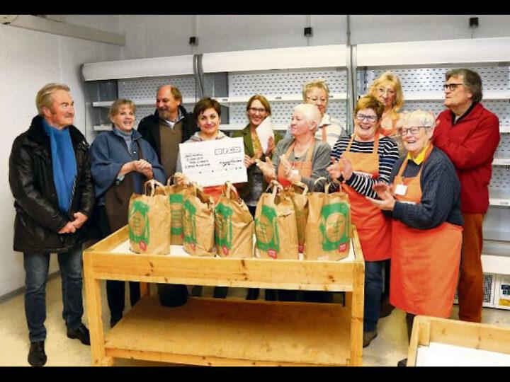 Bei der Tafel in Rimbach freuen sich die ehrenamtlichen Helfer über die Unterstützung für ihre Arbeit. Foto: Fritz Kopetzky