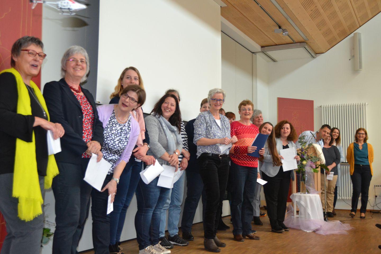 Das Team des Psychosozialen Zentrums in Rimbach. Foto: Blind