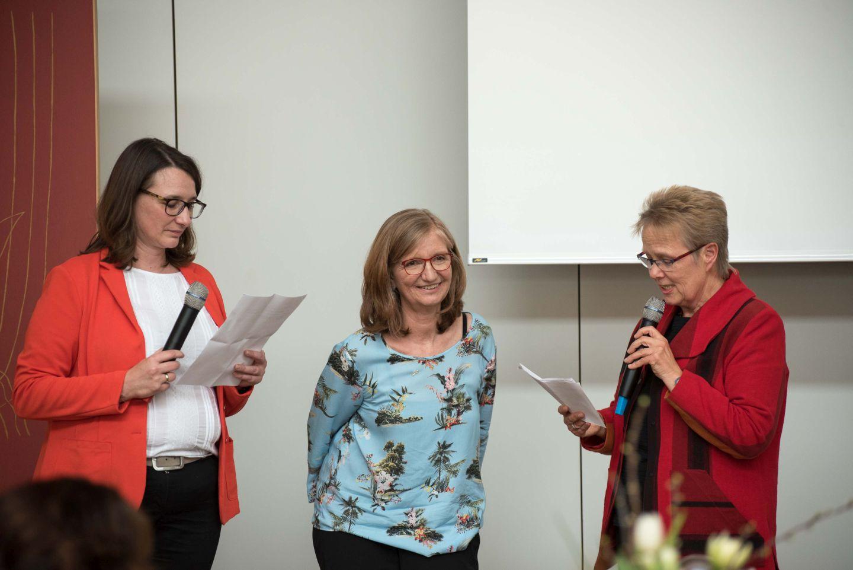 v. l.: Jutta Weller, Ursula Thiels, Irene Finger. Foto: Preuss
