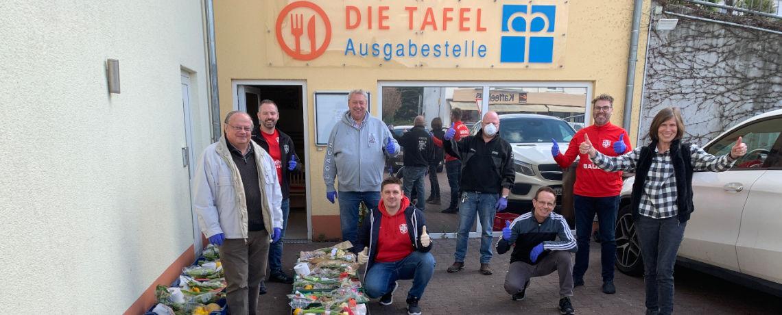 Tafel Rimbach. Foto: DWB